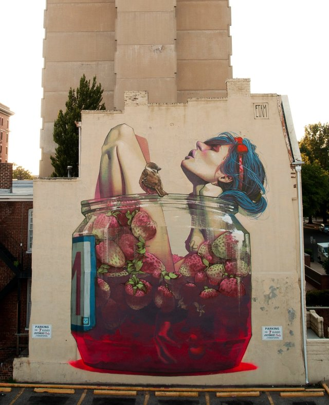 Surreal Murals by Etam Cru Turn Drab Facades into Eye Popping Imagery street art murals