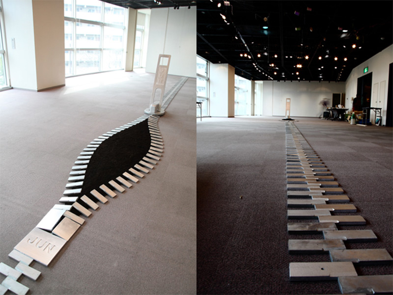 Unzipping Public Spaces One Giant Zipper at a Time zippers Japan installation humor