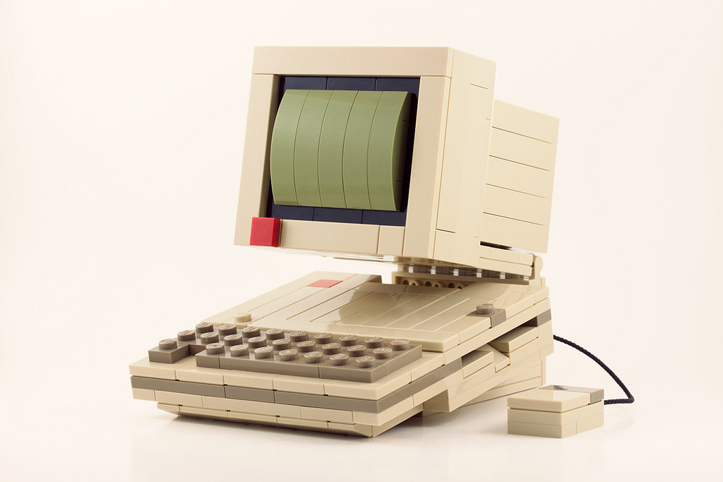 Retro Technology LEGO Kits by Chris McVeigh toys Lego