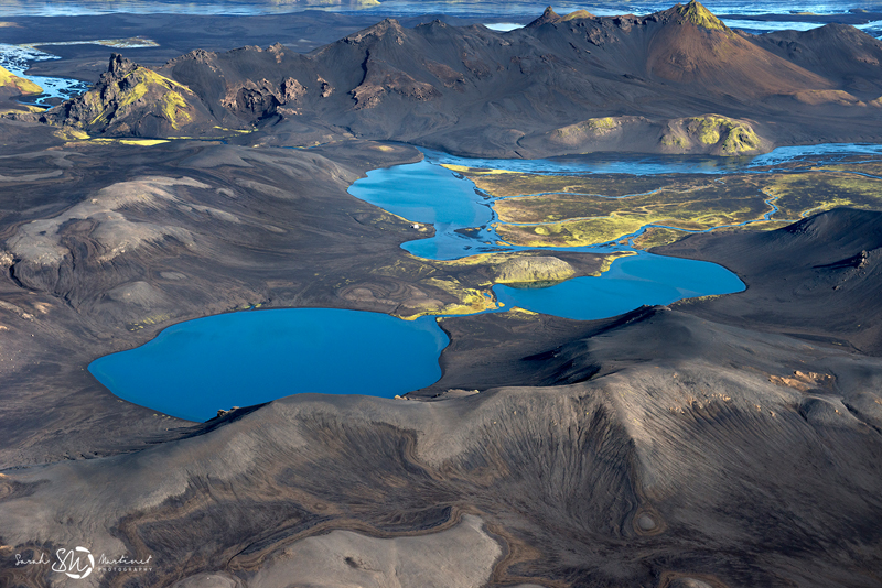 Breathtaking Aerial Landscapes of Iceland by Sarah Martinet landscapes Iceland aerial