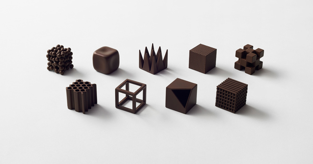 Chocolatexture A Series Of Chocolates To Represent