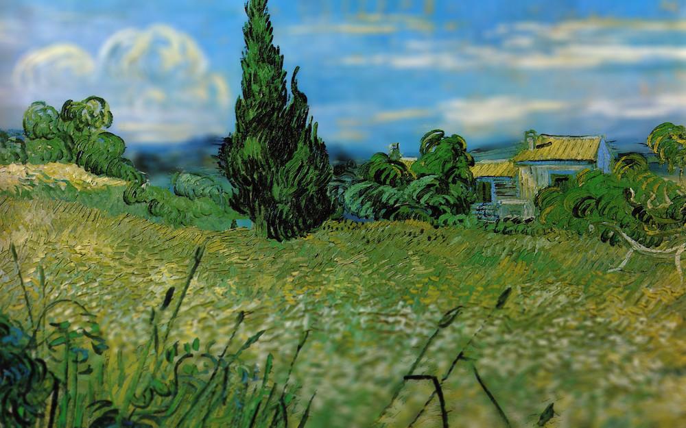 Van Gogh Background Laptop