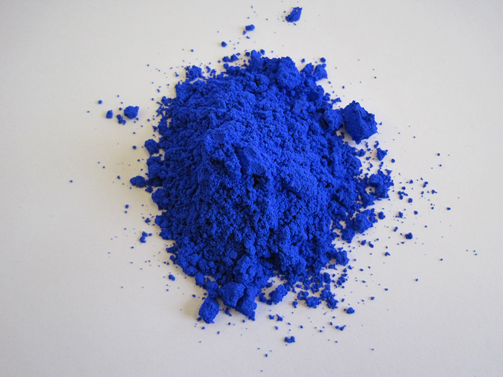 YInMn blue (photo courtesy Oregon State University)