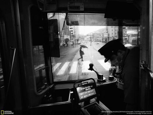 """Cities: First Place Winner, """"Another Rainy Day in Nagasaki"""" by Hiro Kurashina."""