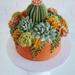 Buttercream Succulents Decorate Edible Planters By Leslie Vigil Colossal