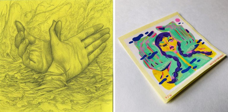 Post it by James Jean and Hayley Powers Thornton-Kennedy