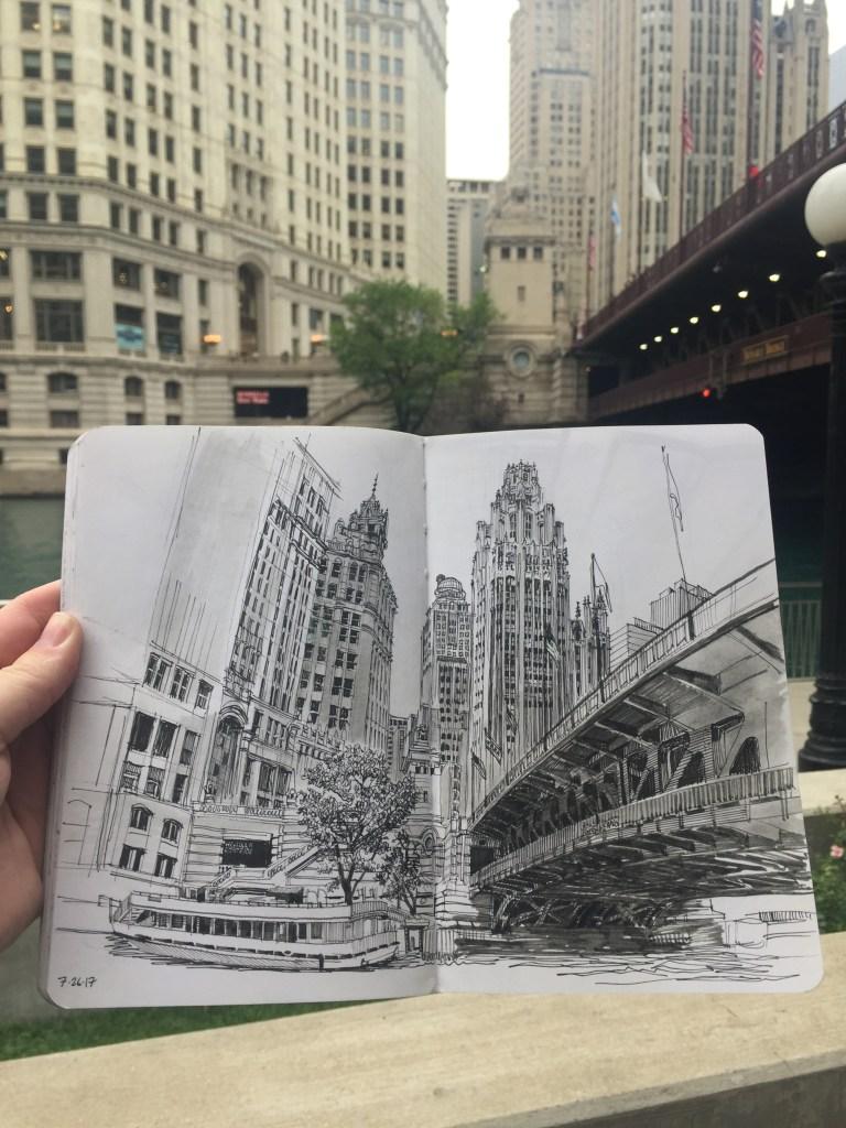 Sketchbook by Paul Heaston