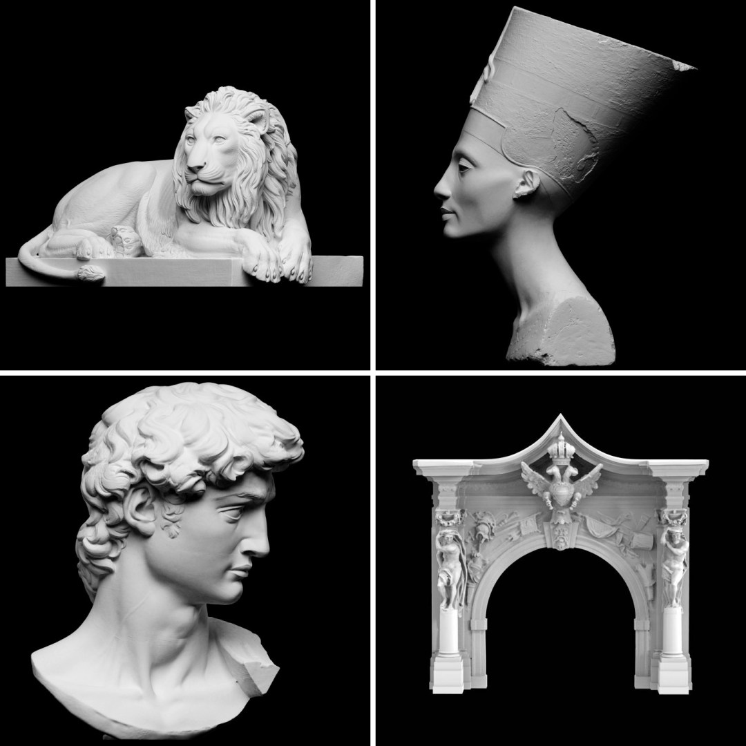 Download and 3D-Print 18,000 Artifacts from Art History through Scan the World