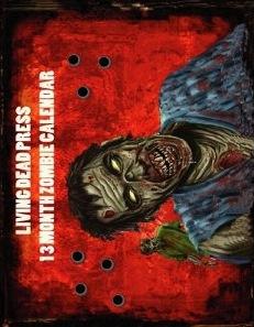 Zombie Calendar 2012