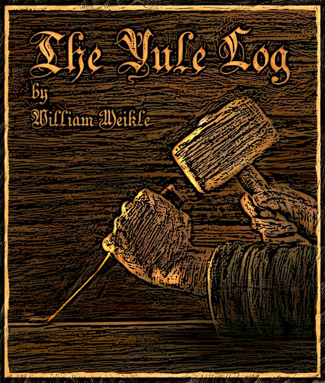 The Yule Log illustration