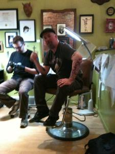 BC Furtney tattoo studio