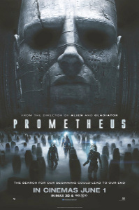 Prometheus one-sheet poster