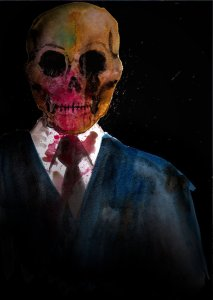 Death in a v neck by Greg Chapman