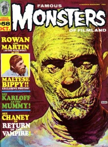 Famous Monsters of Filmland The Mummy