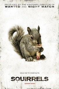 Squirrels horror