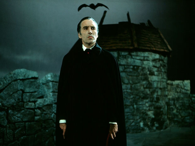Christopher Lee in Scars Of Dracula