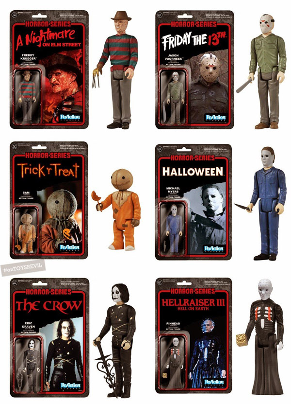 Kenner ReAction figures