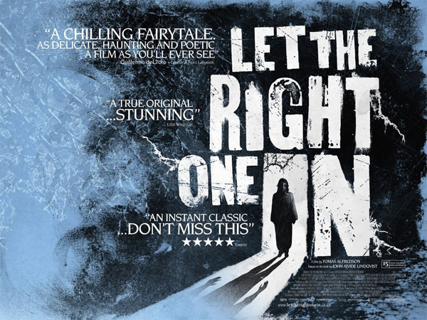Let The Right One In film poster