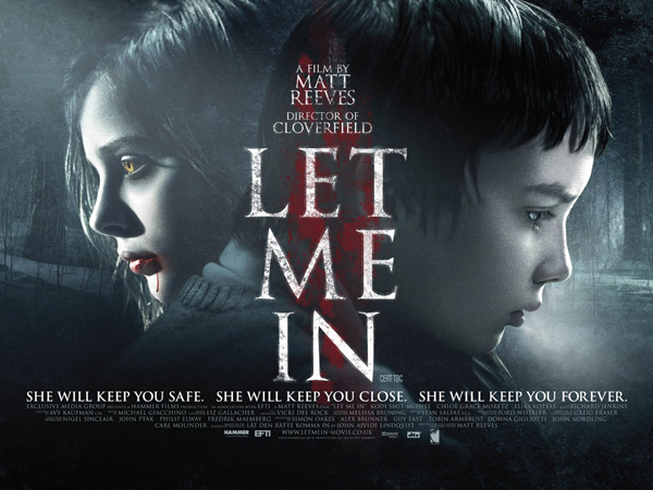 Let Me In movie poster