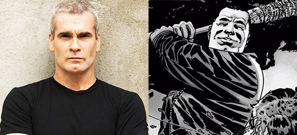 henry Rollins Walking Dead Negan