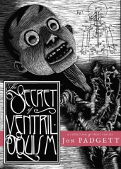 The Secret of Ventriloquism - Jon Padgett - cover
