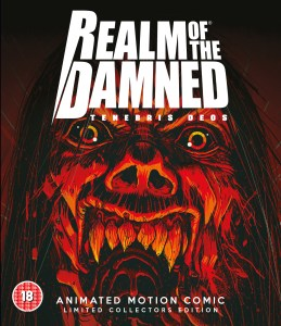 Realm of the Damned - Blu-ray Packshot