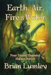 Earth, Air, Fire & Water by Brian Lumley - cover