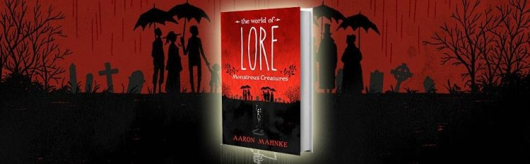 Book-of-Lore by Aaron Mahnke - cover