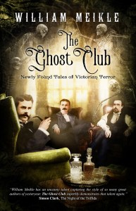 The Ghost Club by William Meikle - cover