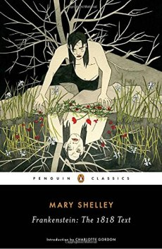 Frankenstein by Mary Shelley -cover