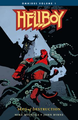 Hellboy Omnibus Volume One - Mike Mignola - cover