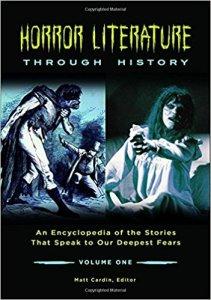 Horror Literature Through History edited by Matt Cardin