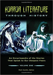 Horror Literature Through History edited by Matt Cardin