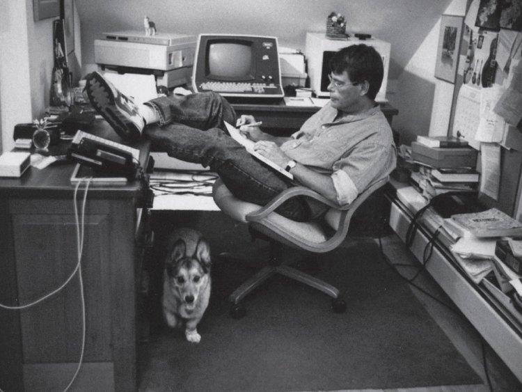 Stephen King's desk