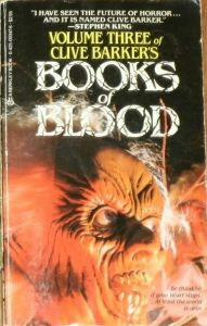 Volume Three of Clive Barker's Books of Blood