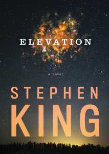 Elevation by Stephen King -cover