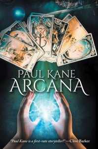 Arcana by Paul Kane - cover