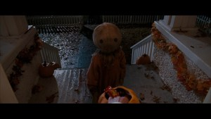 Trick 'r Treat - Sam at the door