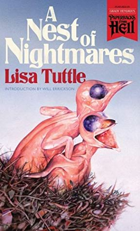 A Nest of Nightmares by Lisa Tuttle - cover