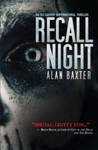 Recall Night by Alan Baxter - cover