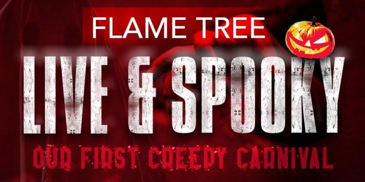 Flame Tree Live & Spooky horizontal
