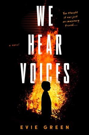 We Hear Voices by Evie Green - cover