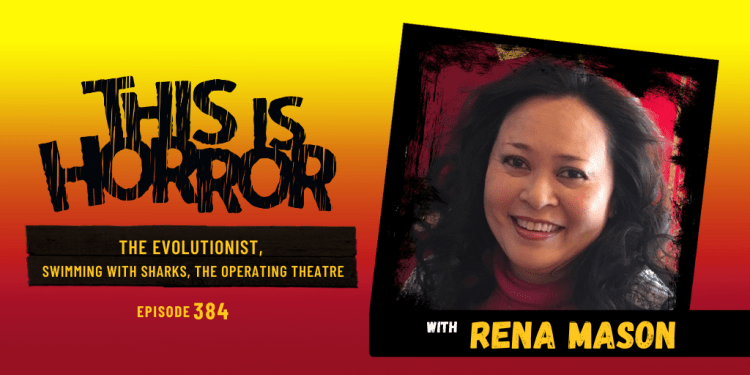 TIH 384 Rena Mason on The Evolutionist, Swimming with Sharks, and Working in the Operating Theatre