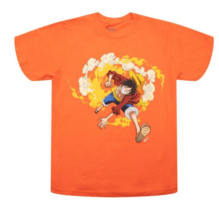One Piece Bait Orange Shirt
