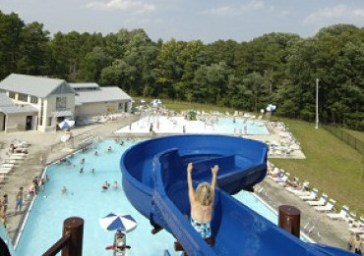 Aquatic Center Arial