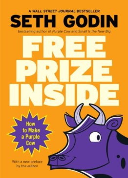Free Prize Inside- How to Make a Purple Cow