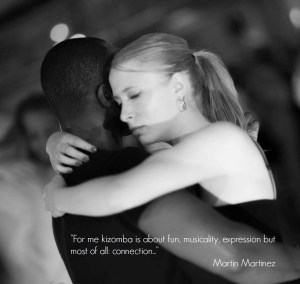 Kizomba is about connection