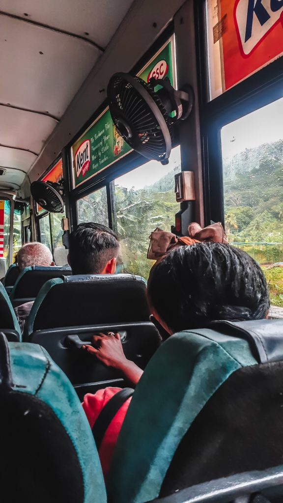 Autobus a Mahé