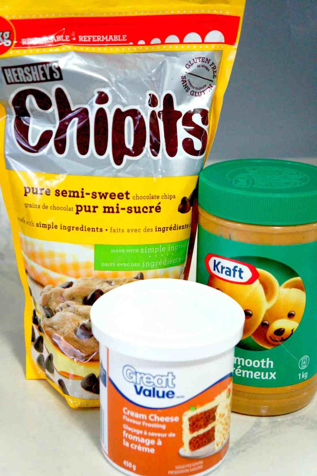 chocolate peanut butter fudge ingredients