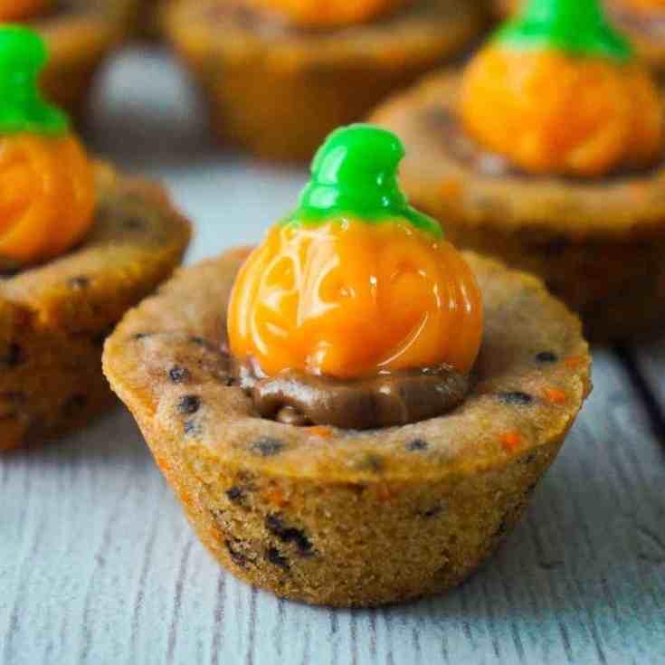 Halloween Sugar Cookie Cups